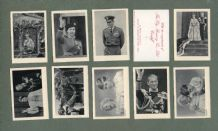 Collectible TRADE cards set  British Royal Portraits 1952 Queen  Elizabeth II